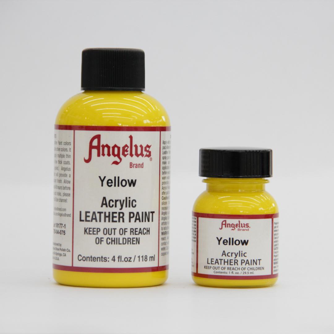 Angelus Leather Paint - Yellow | Shoe Mo